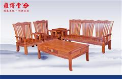 非洲酸枝  丰乐祺扇沙发5件套