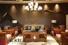 雅宋红木 红木沙发 缅甸花梨沙发 中式沙发  客厅系列 今来沙发
