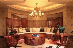中信红木 红木沙发 缅甸花梨沙发 中式沙发 新古典红木家具 飞龙在天沙发