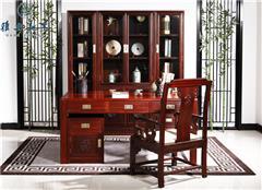 漢風書桌書柜