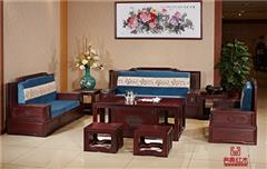 南美酸枝清风明月新中式沙发