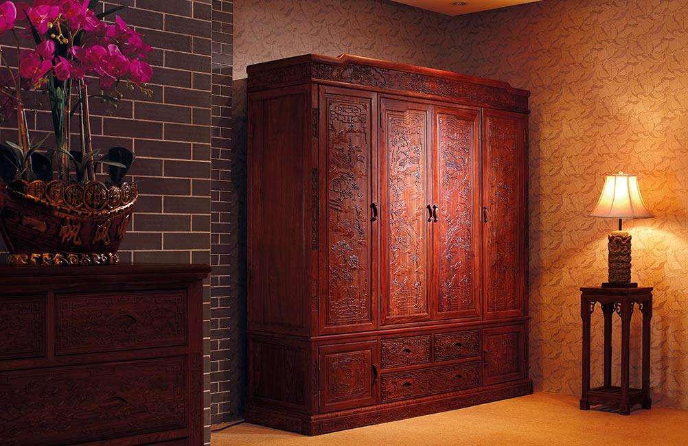 红古轩红木 红木套房 红木衣柜 红古轩古御6