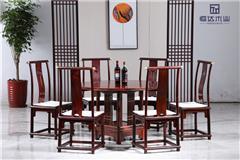 阔叶黄檀餐桌