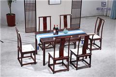 闊葉黃檀餐桌