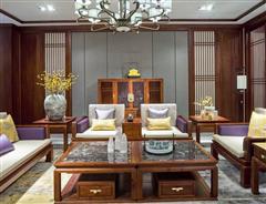 卓木王紅木 中式沙發 逸境會客空間 客廳紅木沙發 新中式沙發 紅木家具定制