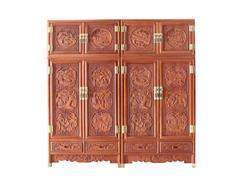 双洋红木 缅甸花梨家具 新古典家具 中式家具 红木家具 卧房系列 农家乐顶箱柜
