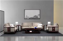 老周家居 上海老周紅木 印尼黑酸枝沙發(學名闊葉黃檀) 悟本沙發6件套(123) 現代中式紅木沙發 新中式家具 紅木家具沙發 客廳系列