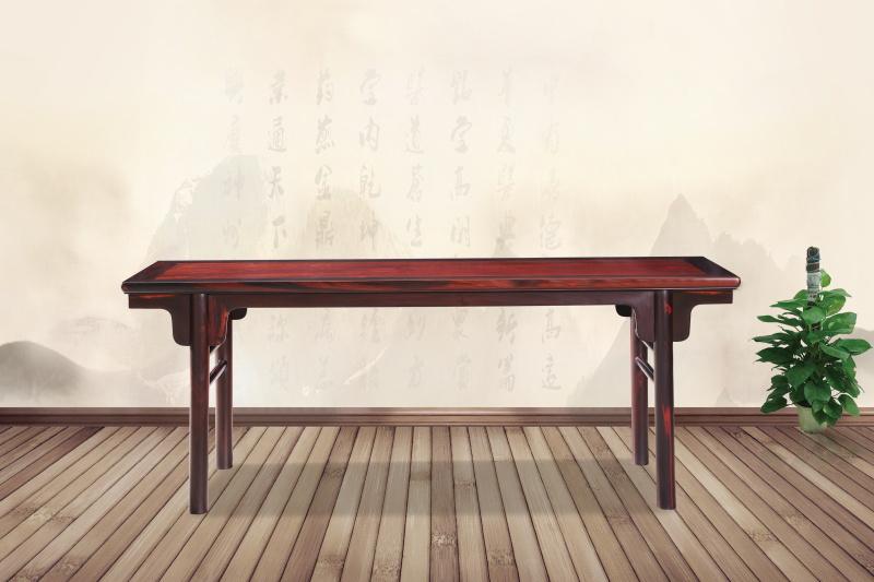 醉木苑红木家具 大红酸枝(交趾黄檀)条案 客厅系列 高端红木家具 明清仿古家具
