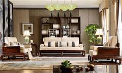 地天泰·国风 朗风1号沙发 新中式家具 黑酸枝 客厅系列