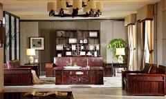 地天泰·国风 硕风1号沙发1+2+4位 新中式家具 黑酸枝 客厅系列