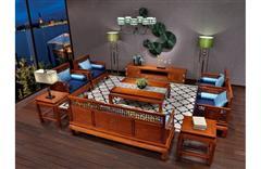 美联家私 红木客厅 客厅家具 海棠话语·客厅系列