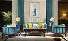 地天泰·国雅 明韶3号沙发 新亚博体育苹果客户端家具 非洲紫檀 客厅系列