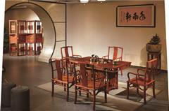 水雨轩 刺猬紫檀 功夫茶台新品 非洲花梨 商务茶台 新中式茶台《双用茶台》