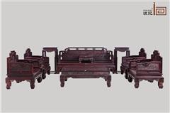 波记家具 印度小叶紫檀沙发(学名檀香紫檀) 雕龙沙发11件套 高端红木家具 健康环保家具 明清古典沙发 客厅沙发系列