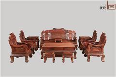 波記家具 老撾大紅酸枝沙發(學名交趾黃檀) 元寶沙發11件套 高端紅木家具 健康環保家具 明清古典家具 客廳沙發系列