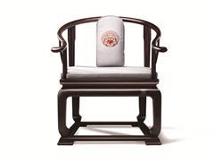明堂红木 东非黑黄檀 紫光檀 红木家具 红木单椅 中式家具 中式空间 中式客厅 客厅系列 休闲系列 首席椅