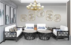 海强红木 东方之信 刺猬紫檀 红木家具 中式家具 新中式家具 中式客厅 客厅系列 上喜沙发