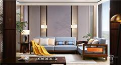 东成红木 东成·文宋 黑酸枝沙发套装 博文转角沙发  当代中式家具 阔叶黄檀新中式 新中式客厅系列