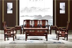 九寶紅木 紅木家具印尼黑酸枝(學名:闊葉黃檀)古典家具明式沙發客廳系列中式沙發