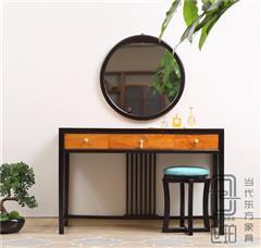 憶古軒·世珀 新中式家具 當代東方家具 淺漾梳妝組合 刺猬紫檀梳妝臺 紅木臥室系列
