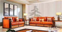 忆古轩·世珀 新中式家具 当代东方家具 境观客厅组合境观沙发 刺猬紫檀沙发