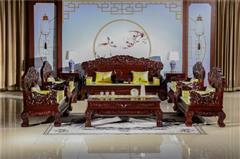 翰文红木 红木家具 中式红木 客厅系列 红木沙发 传奇宝座