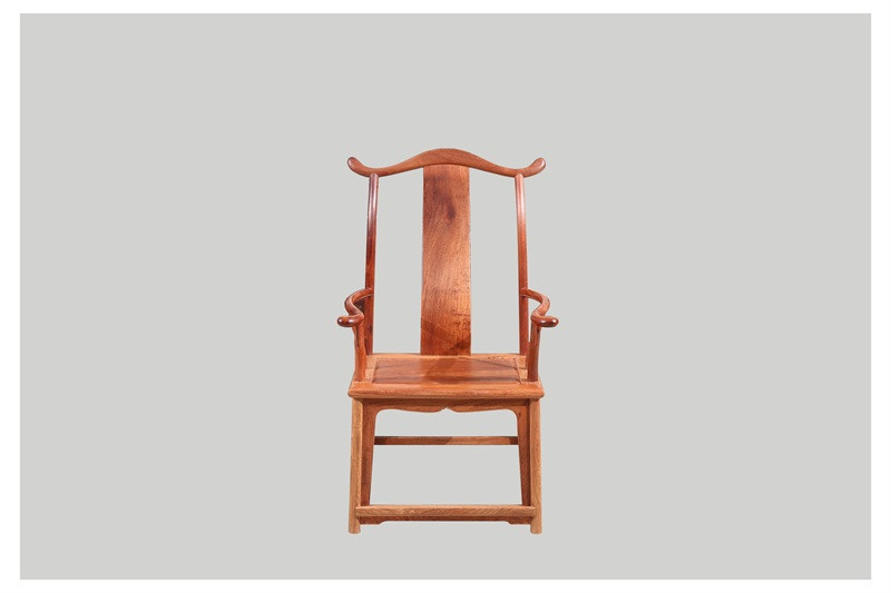 豪盛红木 缅甸花梨(大果紫檀)休闲椅 明清古典休闲椅 高端红木休闲椅 客厅系列 四出头椅