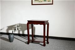 盘谷红木 阔叶黄檀花几 新古典红木家具 客厅系列  盆景花架