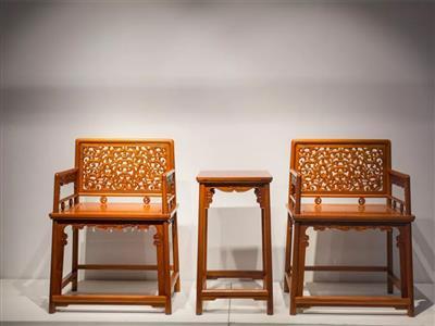 福建红桥红 缅甸花梨家具品牌 大果紫檀玫瑰椅3件套 古典玫瑰椅家具 红木玫瑰椅 国标红木家具 休闲客厅系列