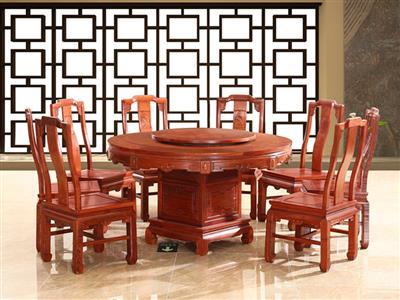 家宝红木餐桌