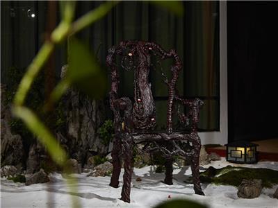 泰和园 小叶紫檀 当代君子梅花椅