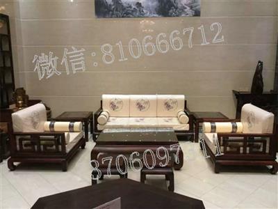 老挝大红酸枝现代客厅沙发