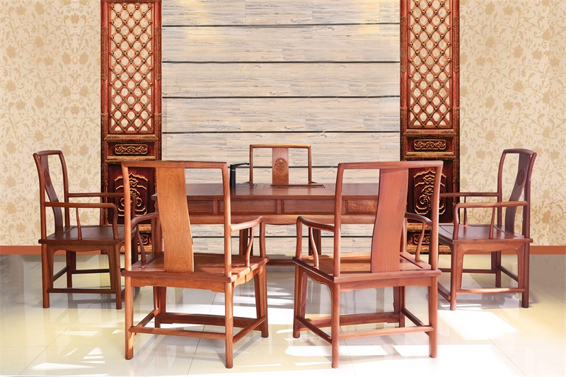 典艺轩红木 明式茶台