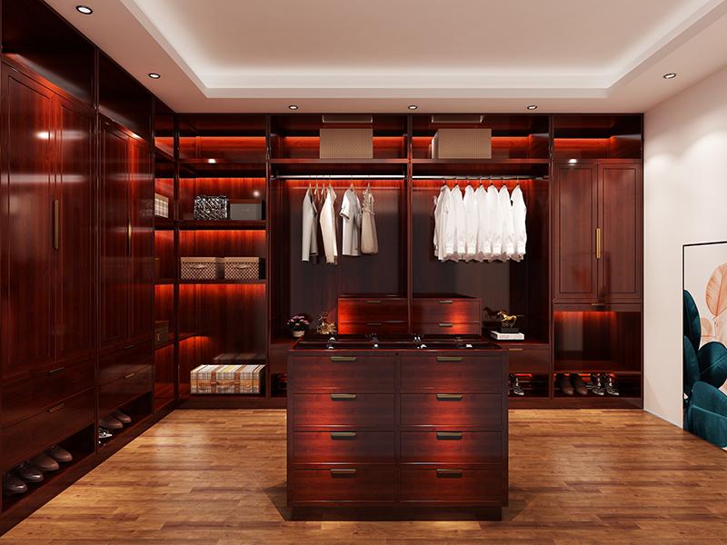 致上家居輕奢紅木定制-衣柜系列