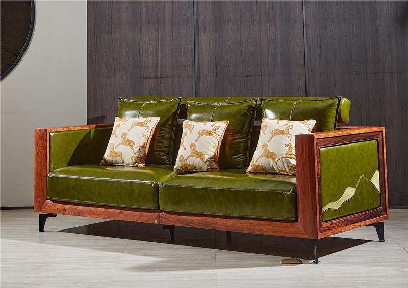 东遇君尚沙发 国标红木刺猬紫檀新中式客厅组合沙发