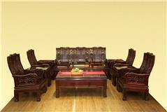花枝明式梳化沙发10件套