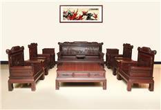 东非红酸枝  兰亭序沙发  11件套