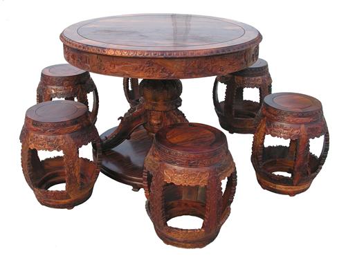 豉凳 圆桌(北京大家之家)