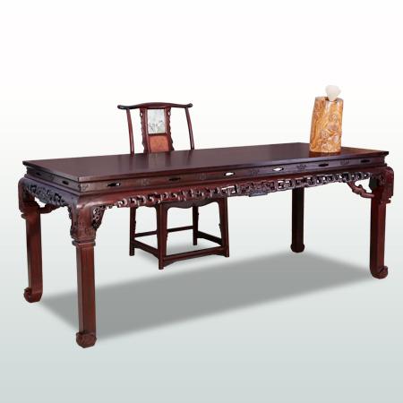 三弯脚清式画桌(新明)