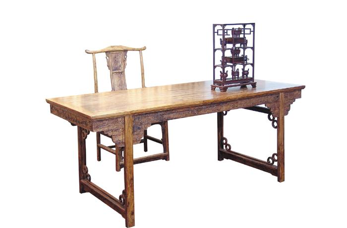 海南花梨画桌(福建三福)