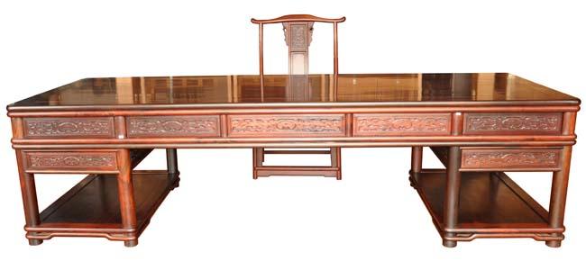 明式大办公桌(福建三福)