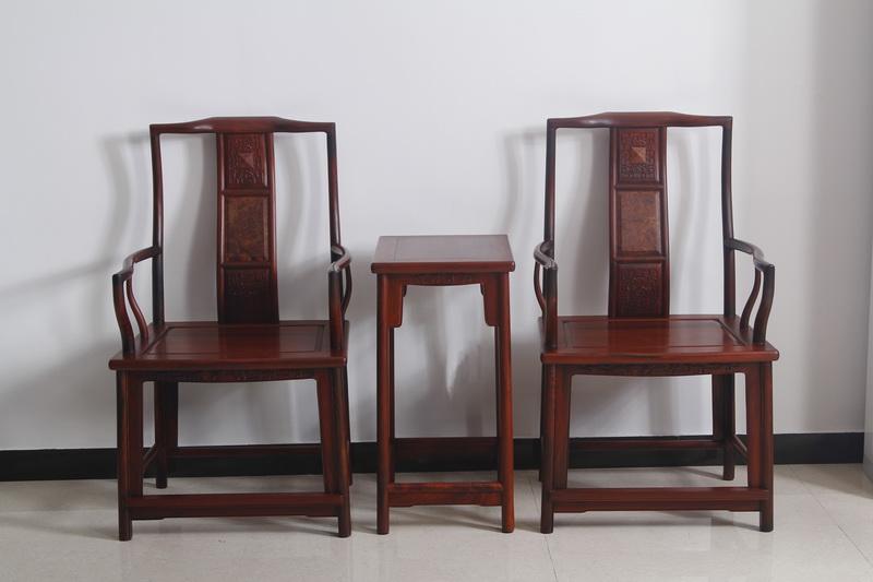 梅花扶手椅(恒达木业)