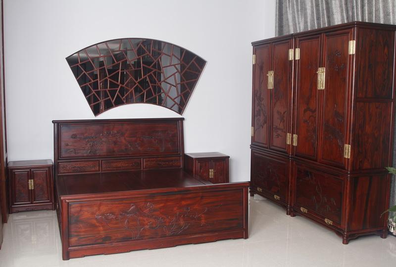 床+顶箱柜(恒达木业)