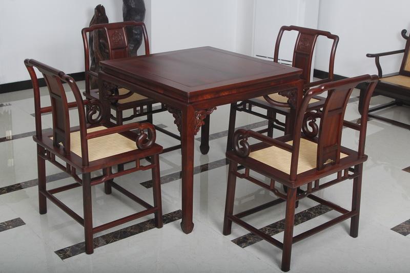 休闲方桌(恒达木业)