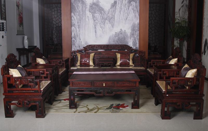 小荷花沙发(恒达木业)