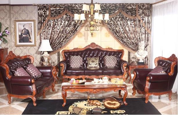 红木欧式风格沙发
