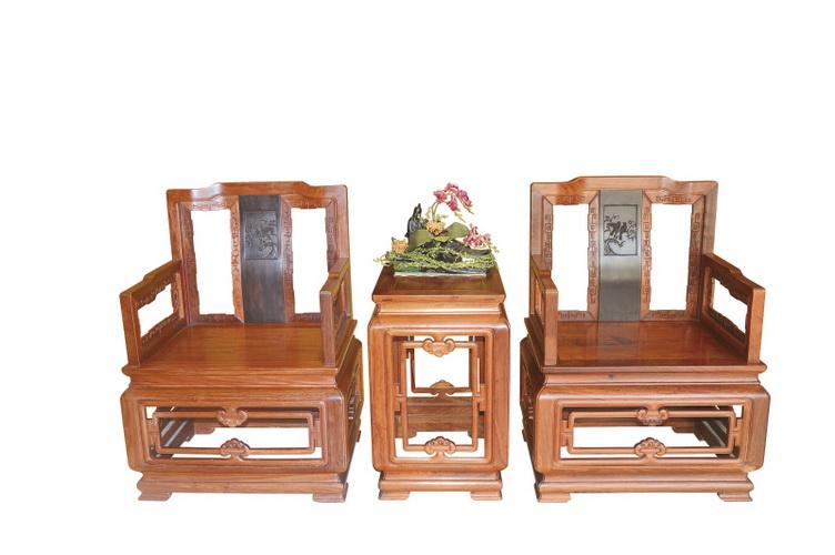 明式檀雕椅