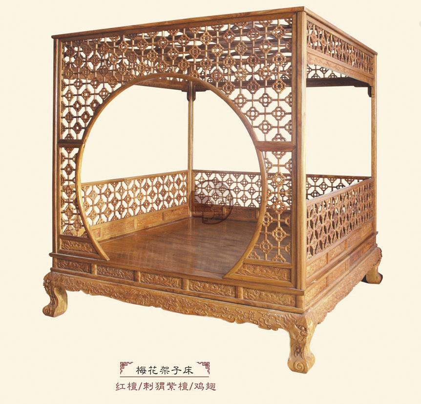 梅花架子床
