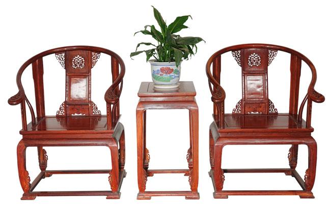 皇宫椅【有红檀、非黄、鸡翅3件】(伟明轩)