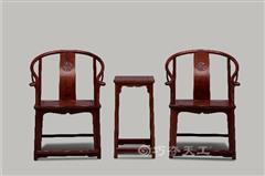 明式螭龍紋圈椅